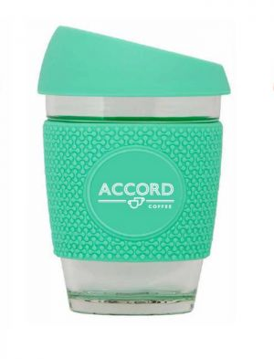 Accord Tasse Réutilisable/Reusable Coffee Cup - Teal