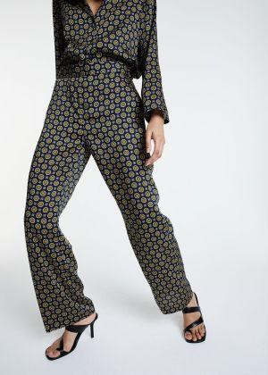 Pantalon Roxanne imprimé cravate