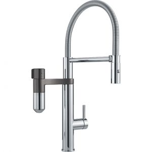 Exclusivité Filtration Franke<br> Vital 2in1 Robinetterie fonctionnelle professionelle<br> Chrome-Gun Metal
