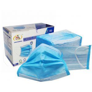 Masques médicaux jetables 4 plis (50 pièces)