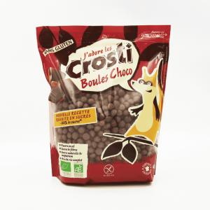 Crosti - Boules céréales croustillantes au chocolat