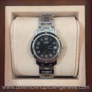 Hermès Clipper quartz watch 2005