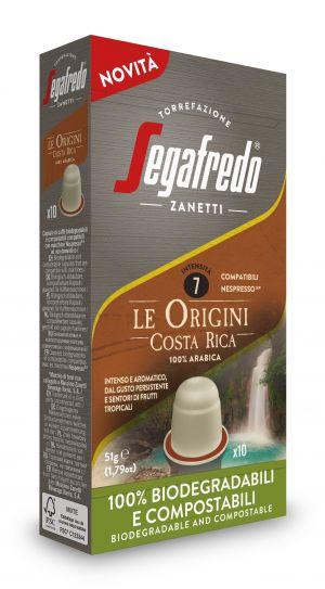 Origini Costa Rica - boîte de 10 capsules - Capsules compatibles Nespresso*