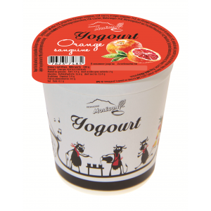 Yogourt au lait de vache - Orange sanguine
