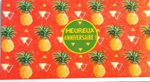 Carte Heureux anniversaire