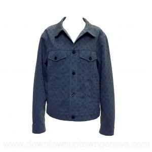 Louis Vuitton jacket in monogram blue denim