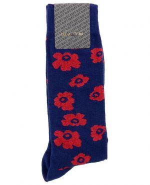 Chaussettes à fleurs en coton Sonno Short
