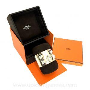 Hermès Collier de chien silver 925 cuff bracelet