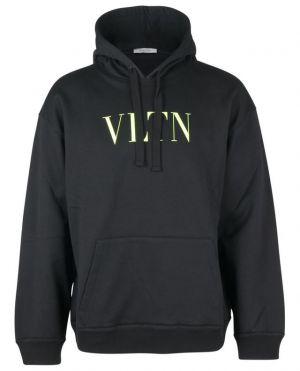 Sweat-shirt à capuche imprimé Neon VLTN