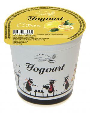 Yogourt au lait de vache - Citron