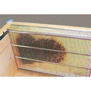 Cage d'isolation à reine pour cadre Dadant
