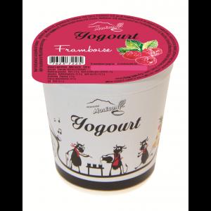 Yogourt au lait de vache - Framboise