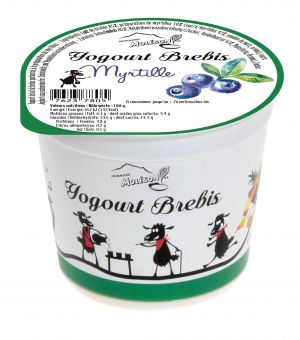 Yogourt au lait de Brebis - Myrtille