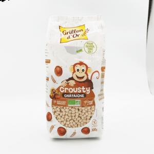 Crousty - Céréales à la châtaigne