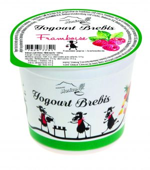 Yogourt au lait de Brebis - Framboise