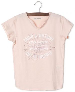 T-shirt imprimé Art is Truth avec cristaux Boxo