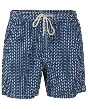 Short de bain imprimé ancres Lightning Anchor