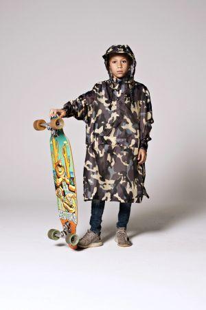 Rainkiss - Jungle Camo Kids 2 - Rain Poncho (120-160cm)